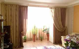 Как подобрать шторы в зал?