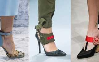 Черные туфли с ремешком: описание с фото, модели