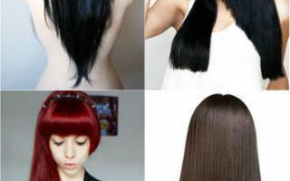 Стрижка «лисий хвост» на средние волосы