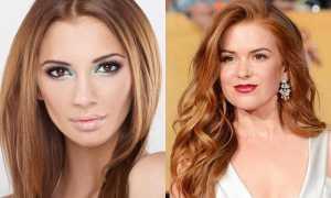 В какой цвет покрасить волосы девушкам с карими глазами?