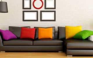 Черные диваны: разновидности и выбор в интерьер