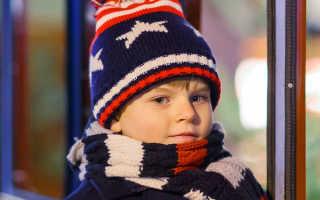 Детские вязаные шапкис чем носить и как выбрать