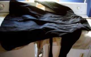 Можно ли стирать пальто в стиральной машине?