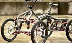 Взрослые четырехколесные велосипеды