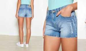 Джинсовые шорты: как и с чем носить, фото