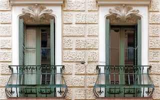 Все о французском балконе