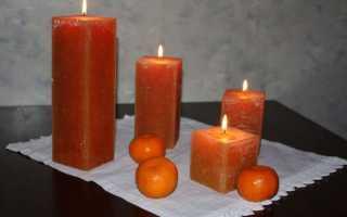 Как отстирать воск от свечи?