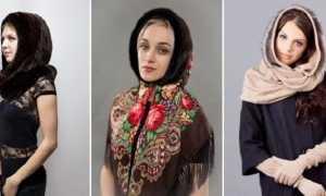 Шарф-капор: как и с чем носить, фото