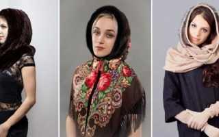 Вязаный шарф-капюшон: как и с чем носить, фото