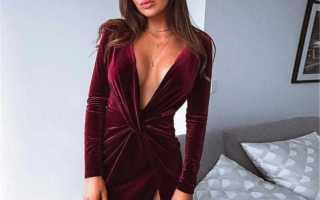 Сексуальные вечерние платья: с чем носить, фото