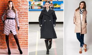 Стеганое пальто: с чем носить и как выбрать