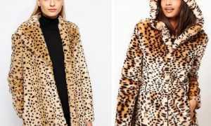 Леопардовая шуба: описание с фото, модели