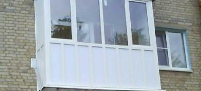 Тонкости остекления балконов в «хрущевке»