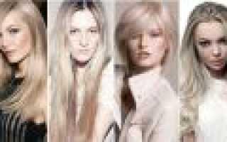 Русый блонд: виды и особенности окрашивания
