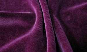 Натуральный велюр: особенности и отличия от других материалов