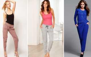 Трикотажные брюки: с чем носить