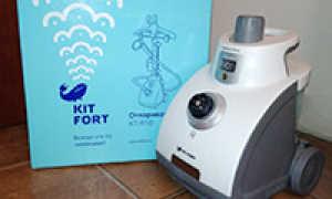 Пароочистители Kitfort: особенности и инструкция по использованию