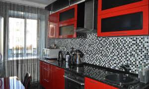 Черная кухня: выбор гарнитура, сочетание цветов и дизайн интерьера