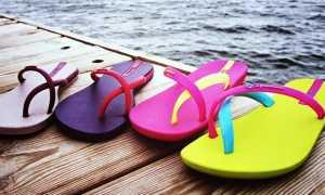 Пляжные туфли и другая обувь для отдыха на пляже
