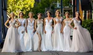 Фасоны свадебных платьев: фото