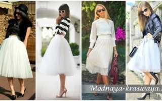 Шифоновая юбка в пол: с чем носить, фото