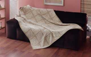 Выбираем покрывало на угловой диван