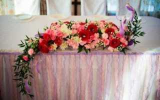 Цветочная композиция на свадебный стол: особенности, советы по оформлению и расстановке