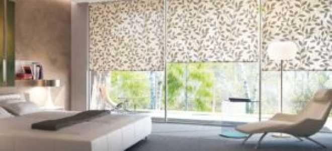 Рулонные шторы в зал: интересные варианты и критерии выбора
