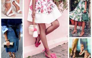 Босоножки на каблуке: с чем носить