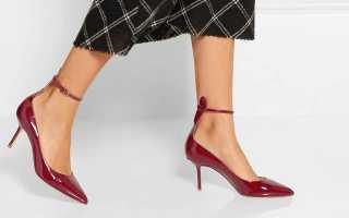 Черные лаковые туфли: описание с фото, модели