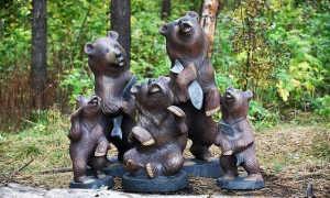 Все о скульптурной резьбе по дереву