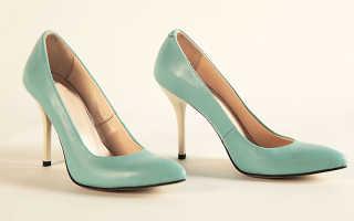 Мятные туфли: описание с фото, модели