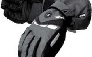 Перчатки для сноуборда: описание с фото, модели