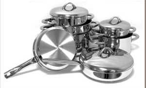 Металлическая посуда: виды и особенности выбора
