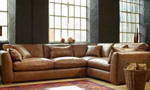 Угловые диваны со спальным местом в интерьере гостиной