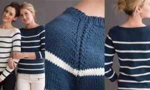 Полосатые свитеры: с чем носить и как выбрать