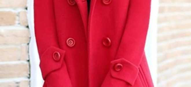 Шарф к красному пальто: как и с чем носить, фото
