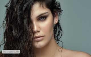 Как самостоятельно сделать прическу с эффектом мокрых волос?