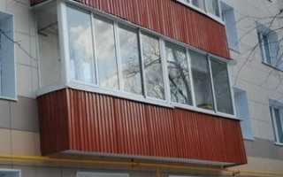 Тонкости отделки балкона снаружи