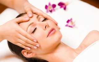 Технология проведения косметического массажа лица