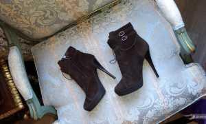 Ботильоны Yves Saint Laurent: с чем носить