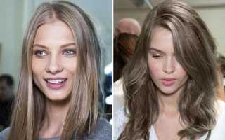 Средне-русый цвет волос: разновидности оттенков и советы по подбору