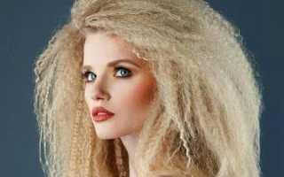 Гофре на короткие волосы: как выглядит и как правильно сделать?