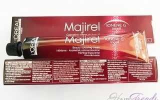 Все о красках для волос Majirel