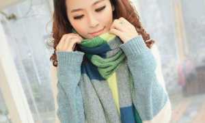 Кашемировый шарф: как и с чем носить, фото