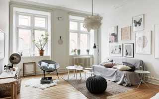 Гостиная в скандинавском стиле: особенности и варианты оформления