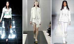 Женская белая легкая куртка: с чем носить и как выбрать