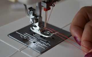 Двойная игла для швейной машины: как заправить и шить?