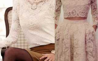 Кружевные блузки: описание с фото, модели, отзывы