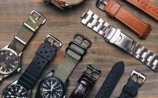 Ремешки для наручных часов: описание с фото, модели